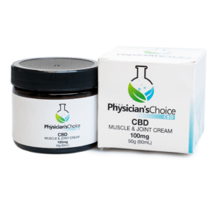 CBD – MUSCLE & JOINT SUPPORT CREAM 100mg