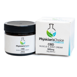 CBD – MUSCLE & JOINT SUPPORT CREAM  500mg